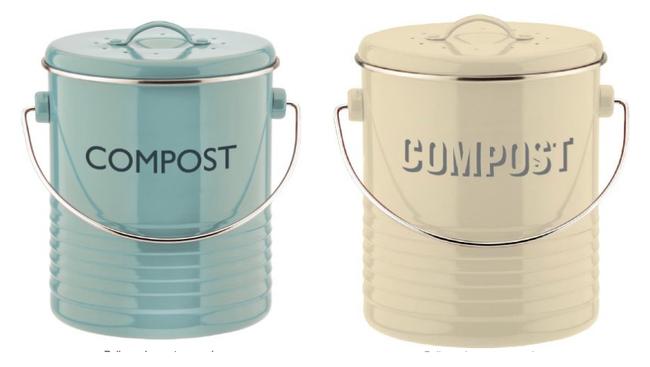 10 Stylish Countertop Compost Bins Compost Bin Compost Bins