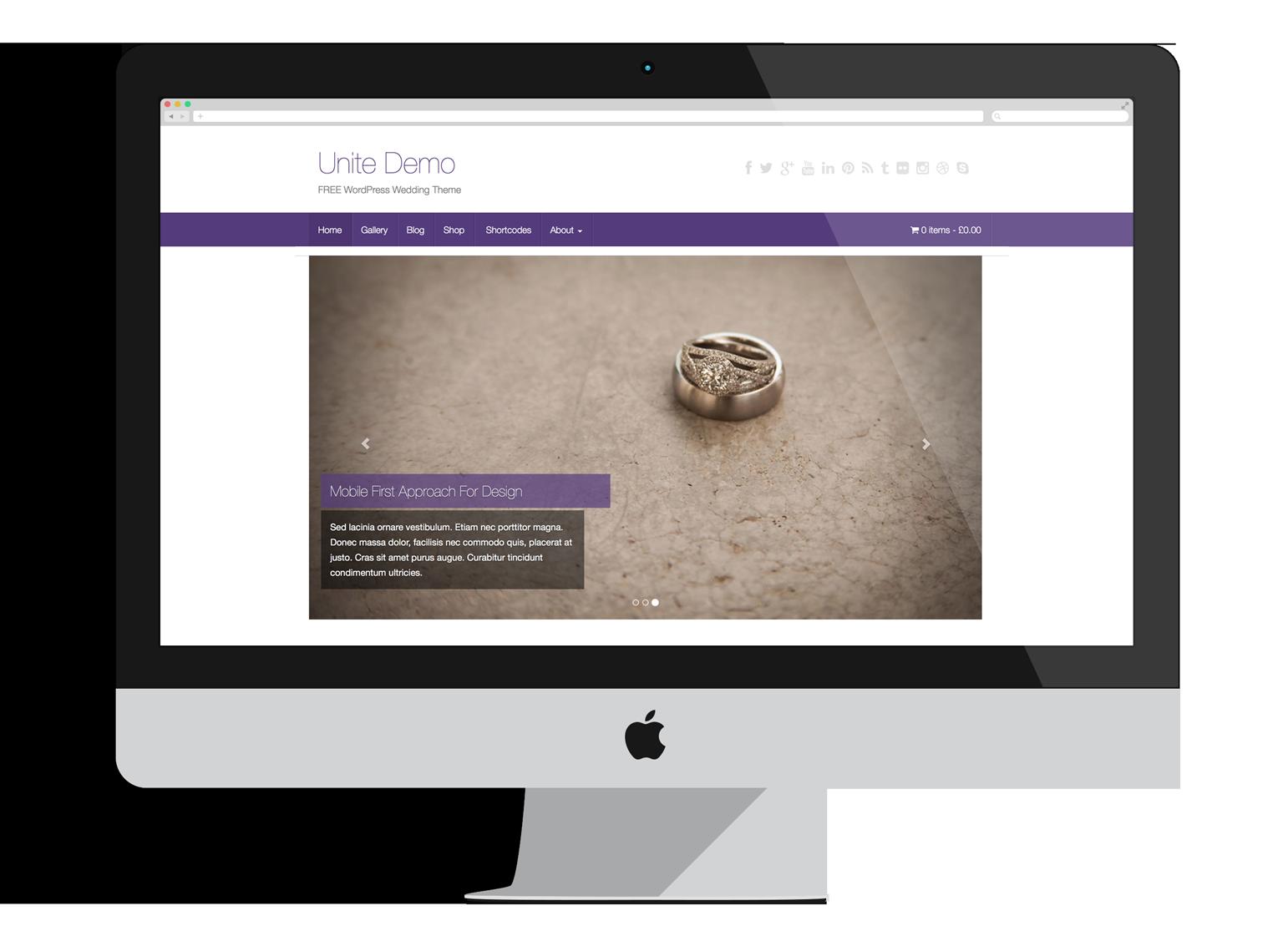 Bootstrap - UNITE - WordPress theme | WordPress: themes, plugins ...
