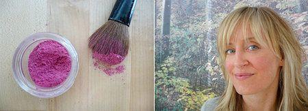 Beet Lipgloss & Blush. See more DIY beauty tips on http://bellashoot.com or click image