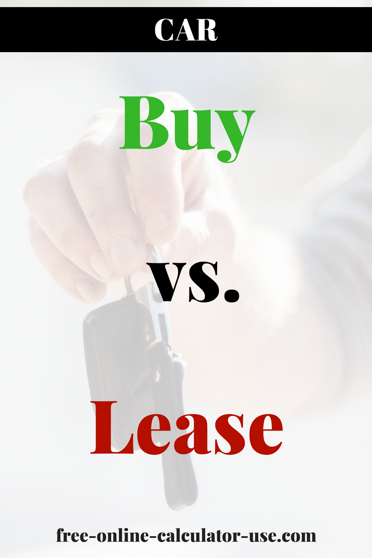 lease vs own car calculator