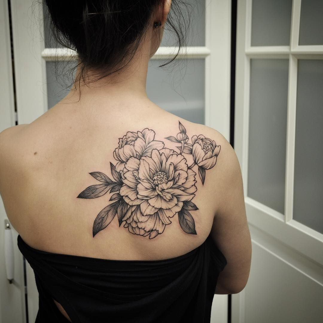 Just A Peony Floral For This One Last Week Tattoos For Women