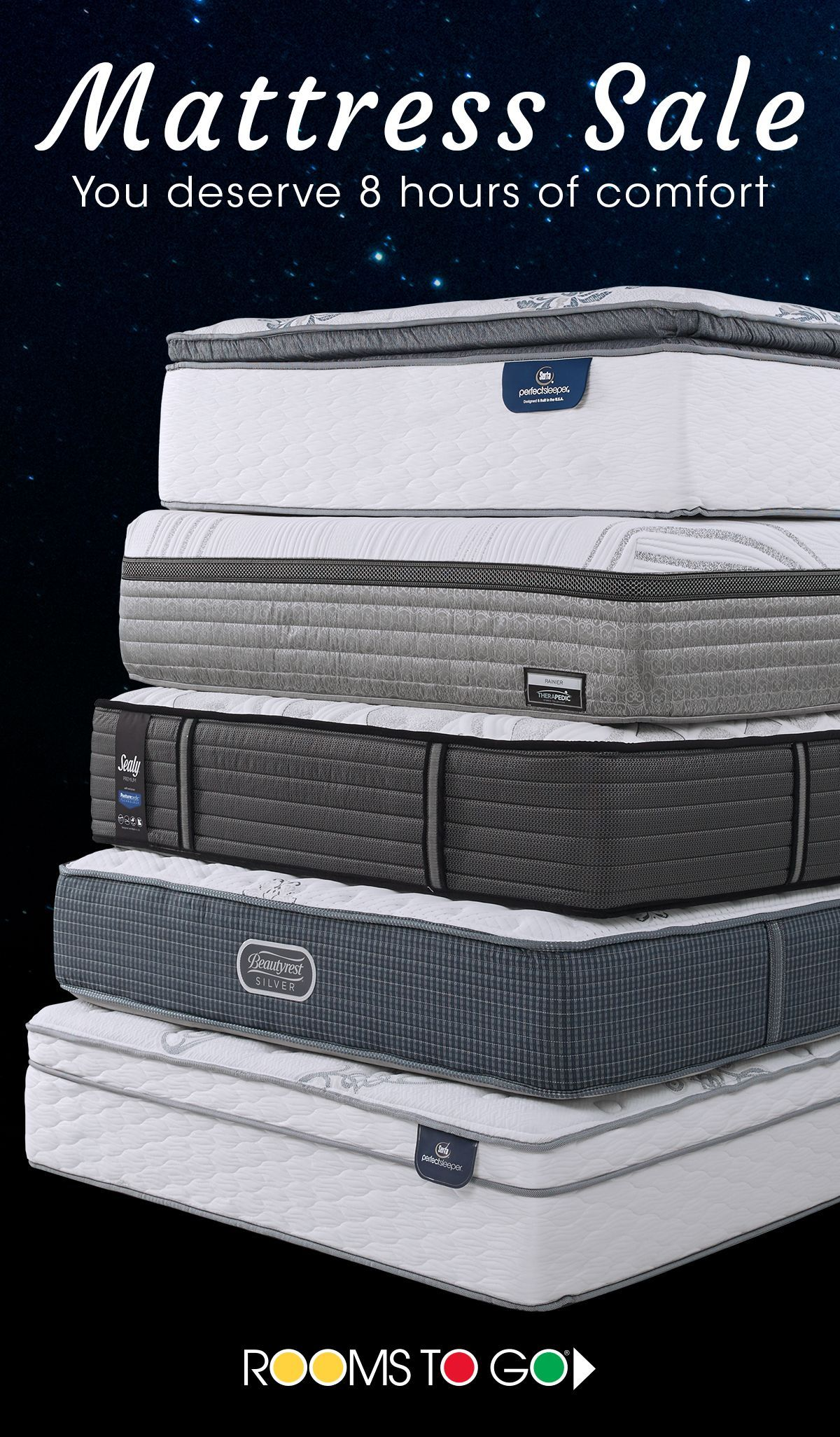 Find The Best Place To Lay Your Head Now During Our Mattress Save On Brands Like Sealy Serta Theic And More Only At Rooms