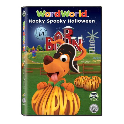 Pbs Kids Halloween Dvd.The Official Pbs Kids Shop Wordworld Kooky Spooky Halloween Dvd