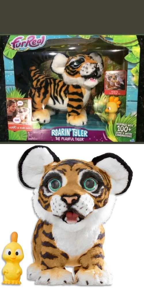 Furreal Friends 38288 Furreal Roarin Tyler The Playful Tiger Brand New Hot Item Buy It Now Only 78 With Images Fur Real Friends Baby Girl Toys Little Live Pets