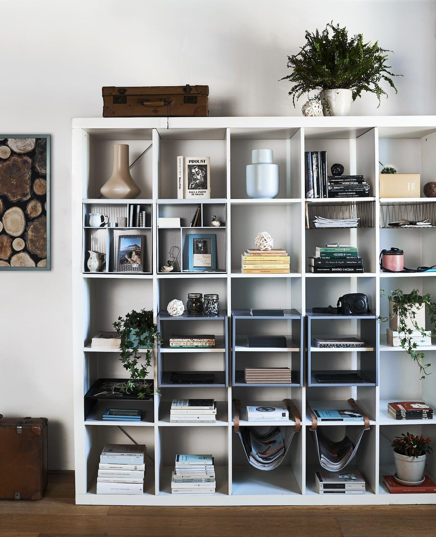 Storage And Display Ideas For Kallax