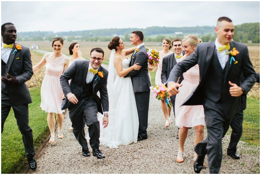 Josh + Brittany: Barn at the Meadows Wedding Orrville Ohio ...