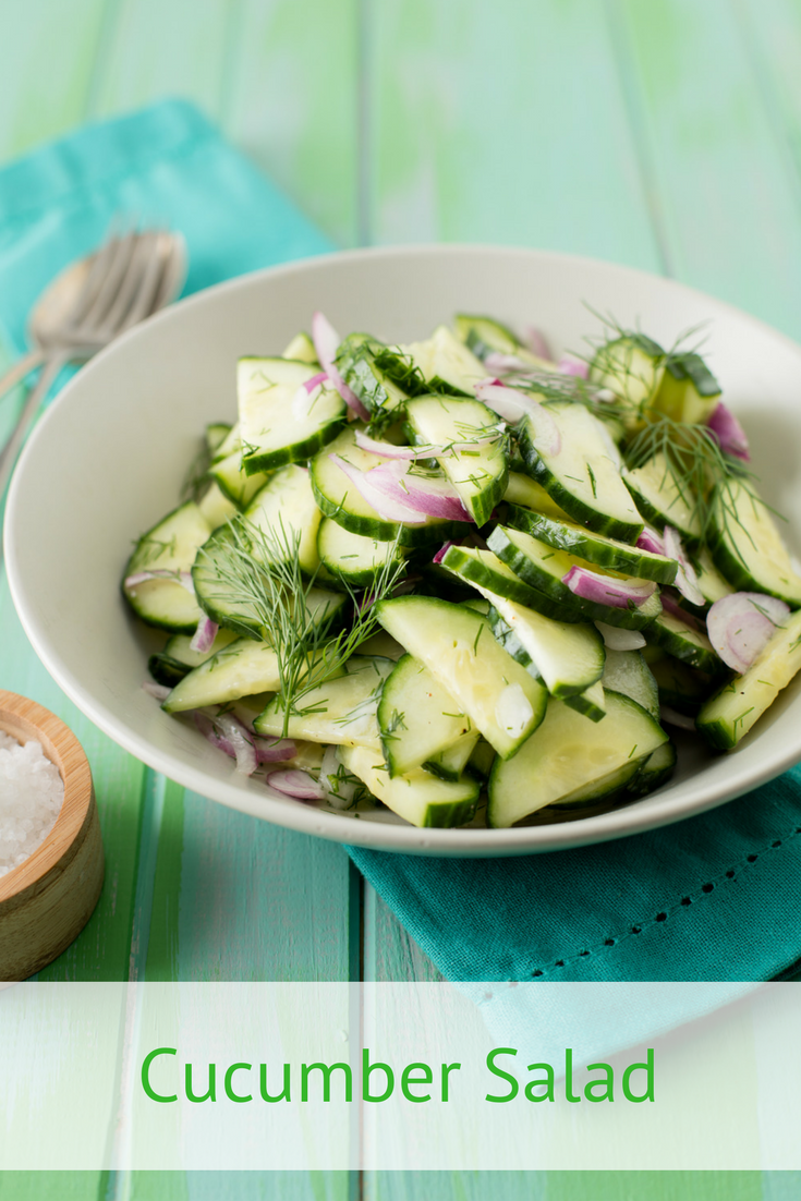 Cucumber Salad Recipe With Honey