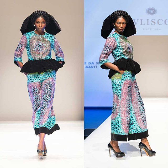 Look By Nigerian Fashion Designer Lanredasilvaajayi Made Out Of My Print Design Which Was Pre African Print Fashion Nigerian Fashion Designers African Fashion
