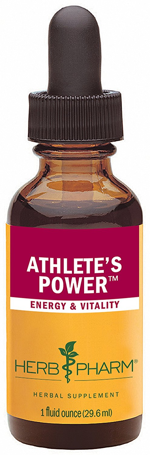 Herb Pharm Athlete's Power Herbal Formula for Energy and Vitality - 1 Ounce * Special  product just for you. See it now! : Herbal Supplements