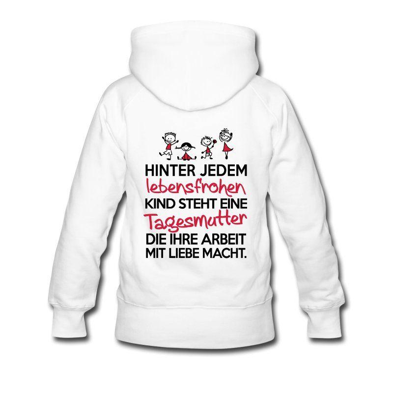 Hinter jedem Kind steht eine Tagesmutter mit Liebe, erzieherin, erzieher, kindergarten,Familie,Kind,Geschenk,kinder,tasse, spruch, lustig, lustig, witzig, spruch, humor, spaß,lustiger spruch, cool,süß