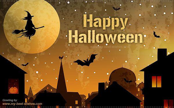 Ordinaire Happy Halloween Wishes Greeting And E Card