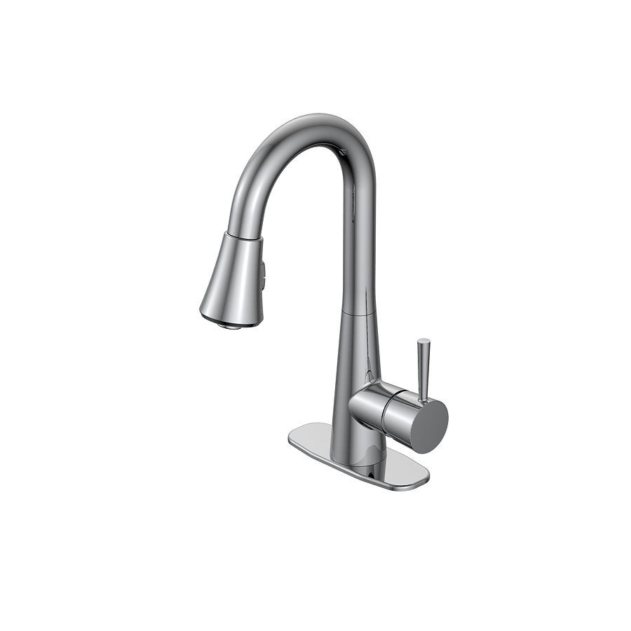 Jacuzzi Jacuzzi Carson 1 Handle Utility Sink Pulldown Faucet With