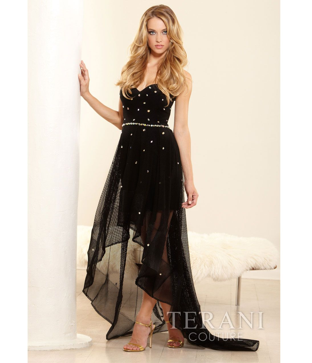 Black High Low Prom Dresses 2014 - Missy Dress