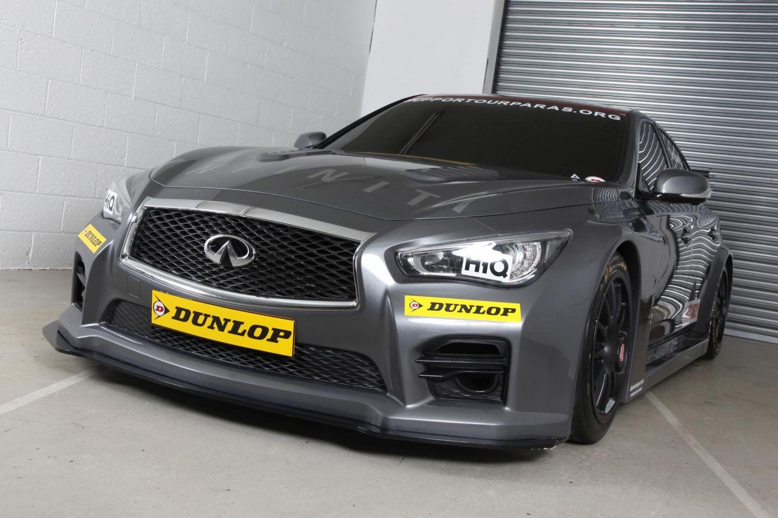 Infiniti q50 btcc race car
