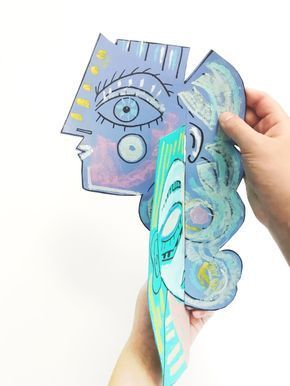 Photo of Picasso Style Paper Sculpture — ART CAMP