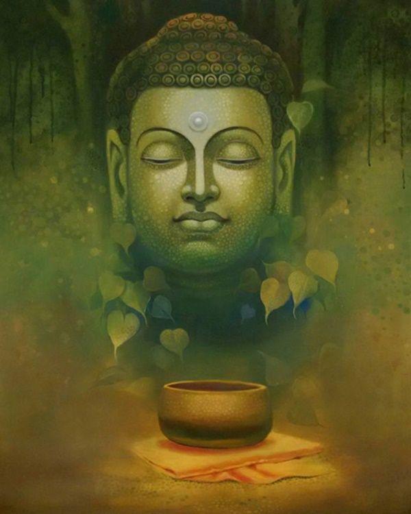 35 Peaceful Gautam Buddha Painting Ideas To Feel Calm