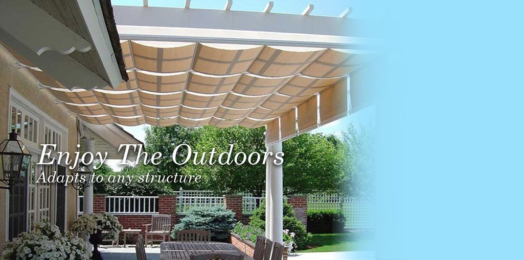 Canopies | Retractable Deck Awnings | ShadeTree® Canopies