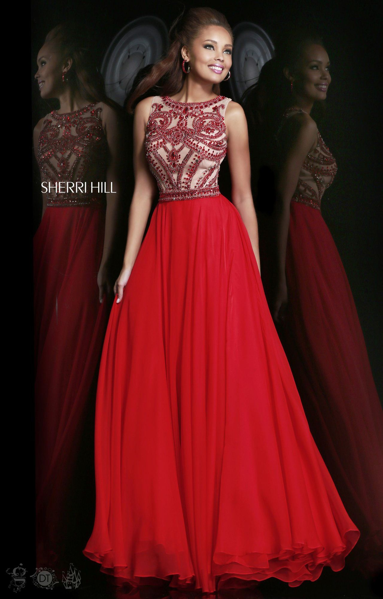 New Red Wedding Boat Neck Long Pageant Evening Bridal Party Gown ...