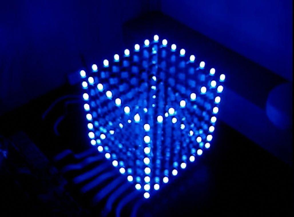 Cubo De Led 8x8x8 Passo A Passo Arduino Arduino Projects Diy Electronics