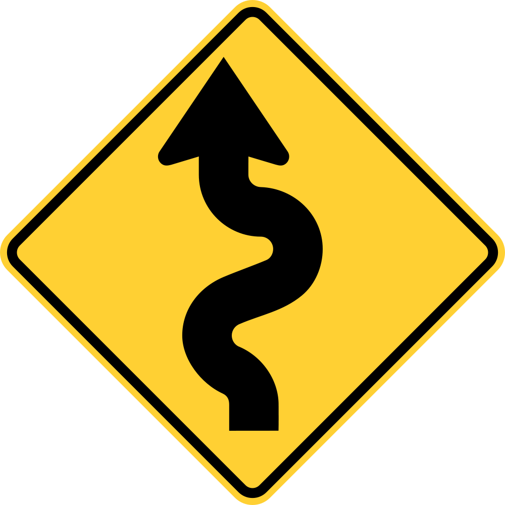 Caution Curves Ahead