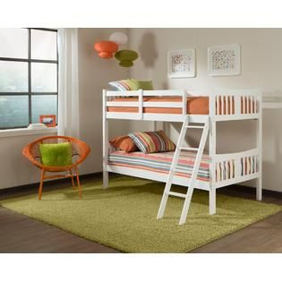 Caribou Bunk Bed White Kmart White Bunk Beds Twin Bunk Beds Kid Beds