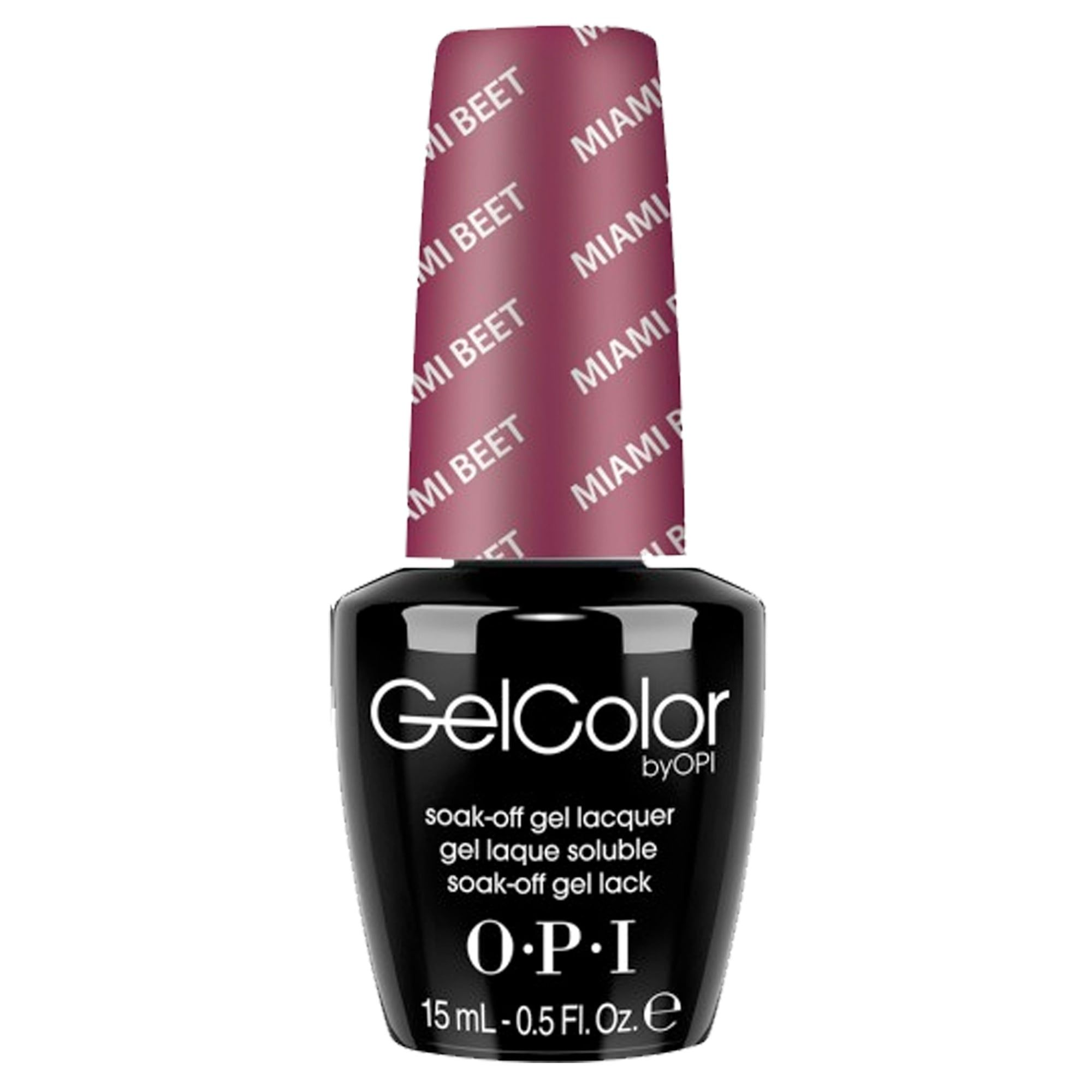 OPI Gel Color - Soak off Gel Polish - Miami Beet 15ml (GC B78 ...