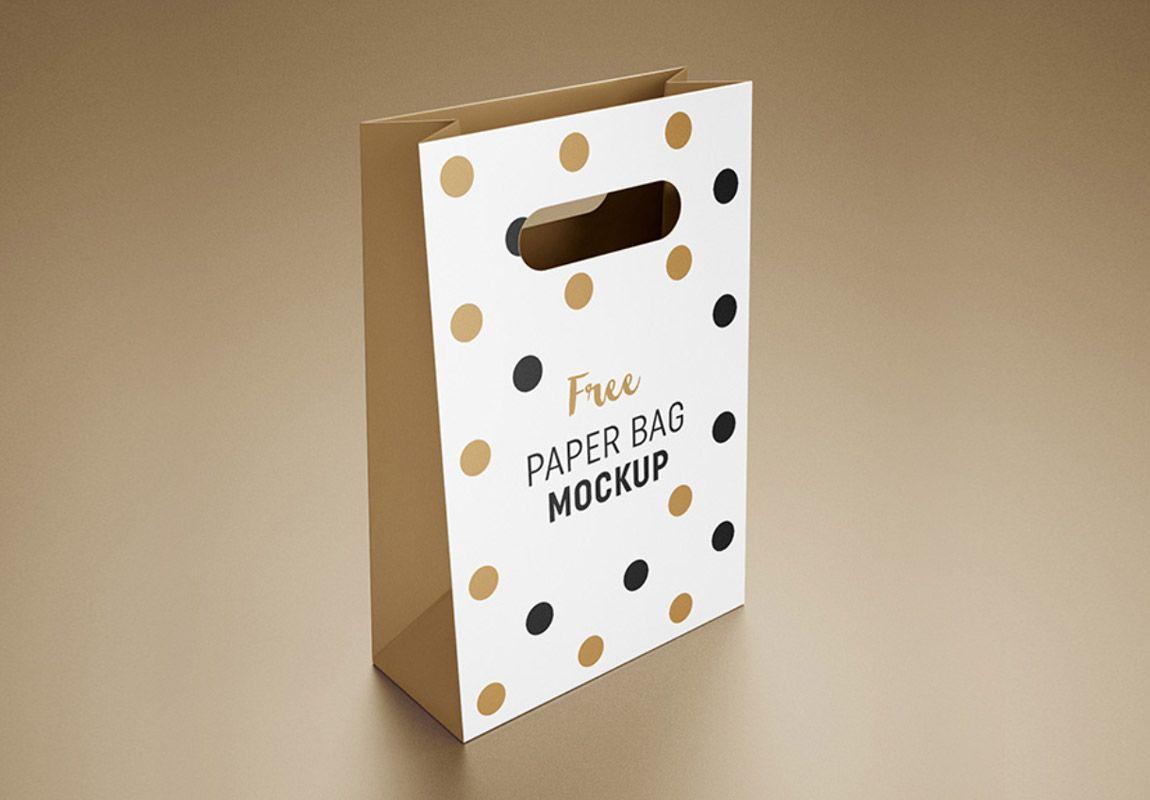 Download Free Paper Bag Mock Up Psd Design Mockup Free Bag Mockup Free Paper