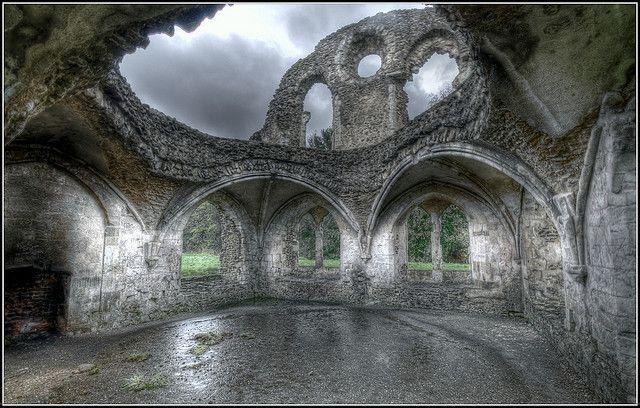 Flickriver Photoset Waverley Abbey Ruins By Martin Finlayson Haunted Castle Castle Ruins Ruins