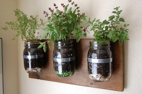 Top 10 Home Made Kilner Christmas Gifts Mason Jar Herb Garden