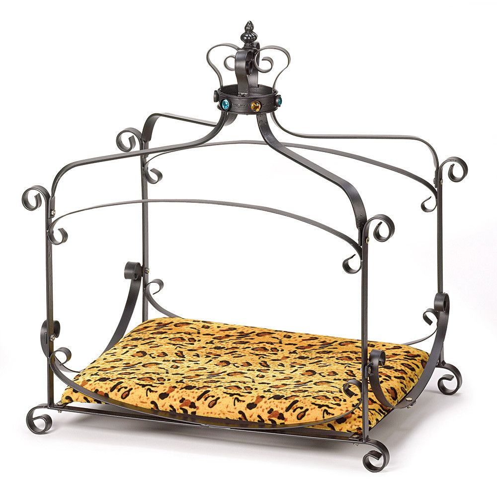 royal splendor pet bed pet beds royals and wrought iron