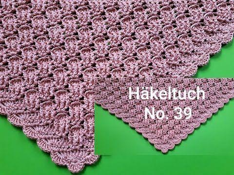 Photo of Häkeltuch Nr. 39, einfaches dreieckiges Häkeltuch