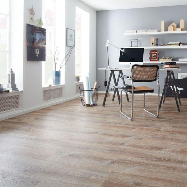 Modernes arbeitszimmer  weiß modernes arbeitszimmer mit qualitäts-vinyl von planeo in ...