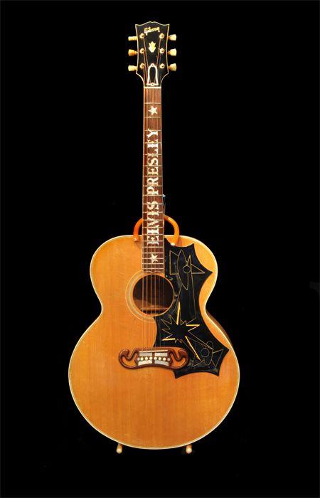 Elvis Presley S Guitars Elvis Guitar Elvis Gibson Acoustic