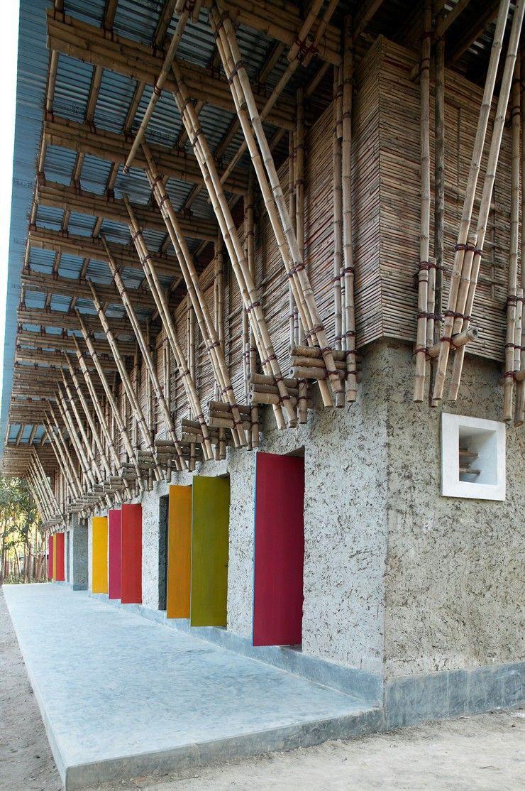 Meti school handmade rudrapur bangladesh by ziegert for Idee architettura interni