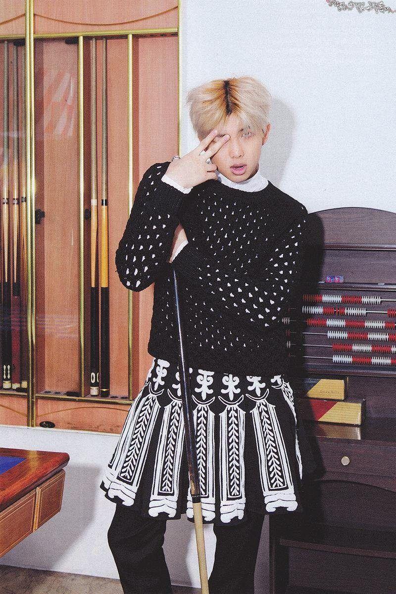 Pin By Hoekage On Bts Namjoon Vogue Korea Rap Monster