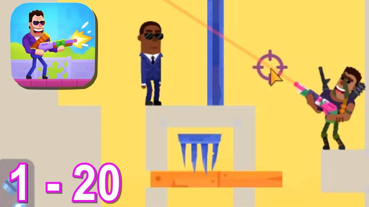 Hitmasters level 1 20 android ios gameplay