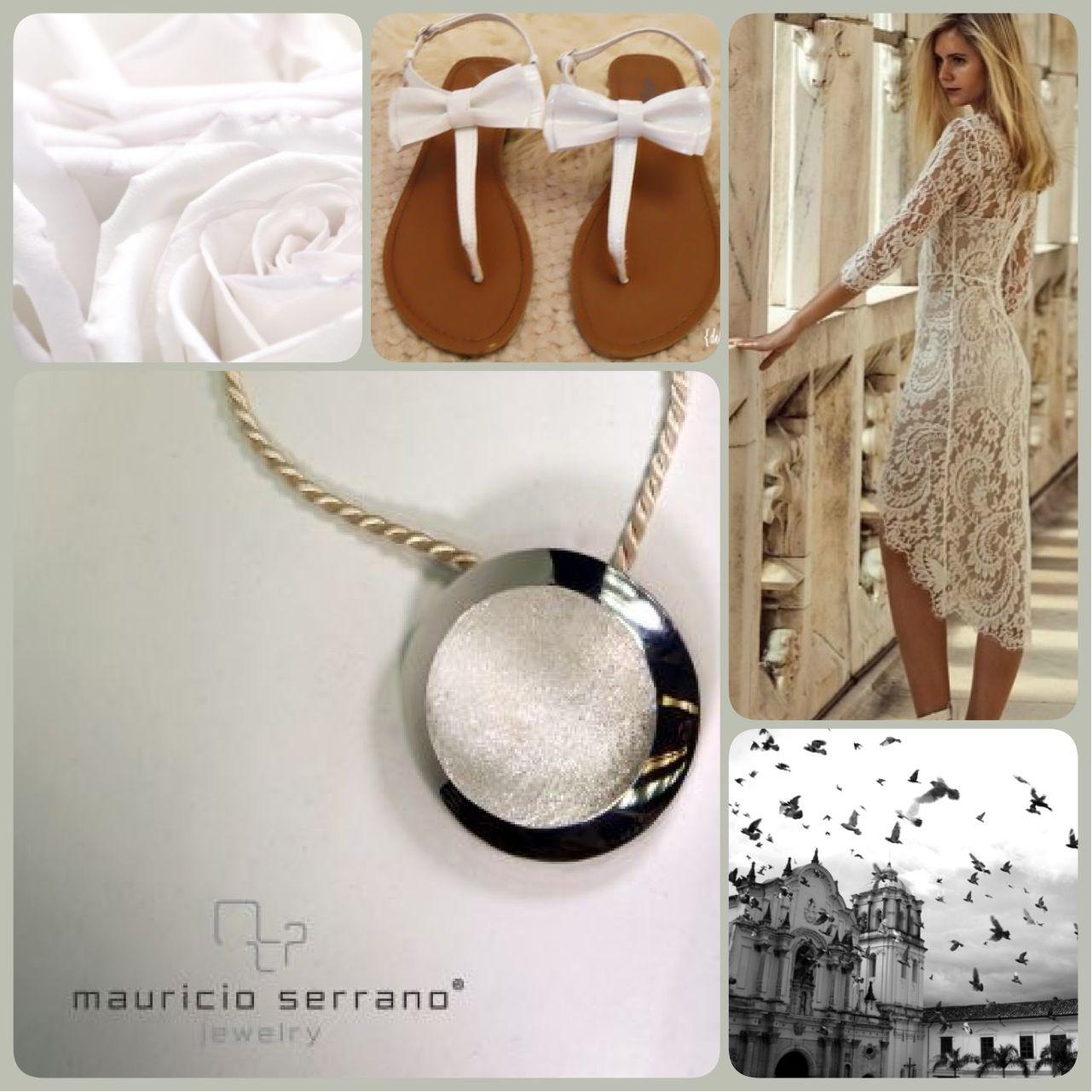 """Collar cielo estrellado, plata .925 """"Mauricio Serrano Jewelry"""""""
