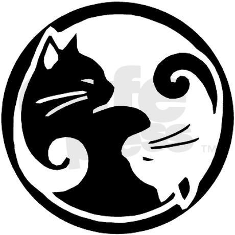 featured designer interview with barbara of wasabirose yin yang rh pinterest com Yin Yang Hug Cat Dog Yin Yang Symbol