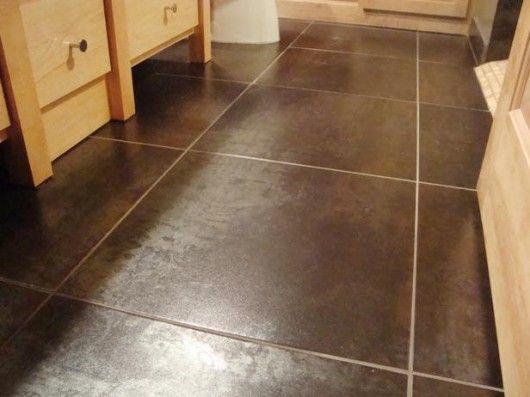 Dark Brown Tile Bathroom Brown Tiles Have A Little Texture