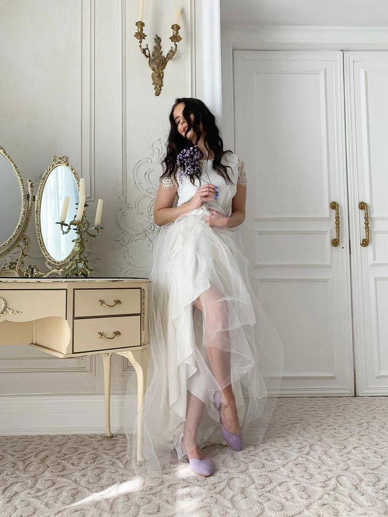 Wedding Shoes Lavanda Wedding Shoes Bridal Shoes Wedding Etsy [ 1058 x 794 Pixel ]