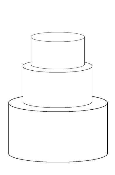 Template For Cake Design : Cake Template (Love) on Pinterest Templates, Sketches ...