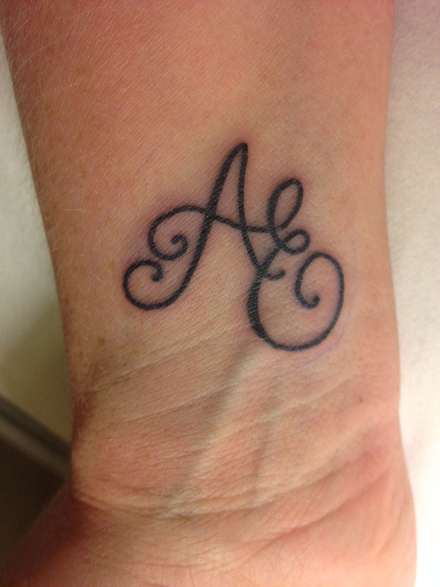 P And A Initial Tattoos - Google Search