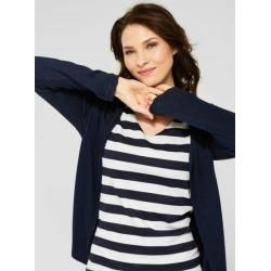 Photo of Street One – Strickjacke Henni in Deep Blue Melange Street One