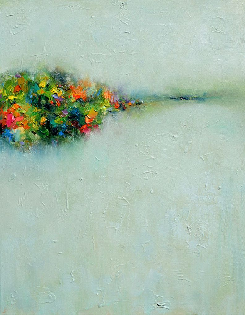 Abstract Landscape 3 by Yangyang Pan