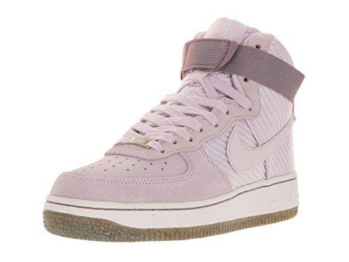 Nike Wmns Air Force 1 Hi Prm Porpoise, Schuhe, Sneaker & Sportschuhe, Hohe Sneaker, Blau, Female, 37
