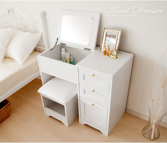 Air Rhizome White Brown With The All Over The Dresser Dressing Table Mirror Mirror Dresser Stool Cabinet Furniture Dresser With Mirror Antique White Furniture