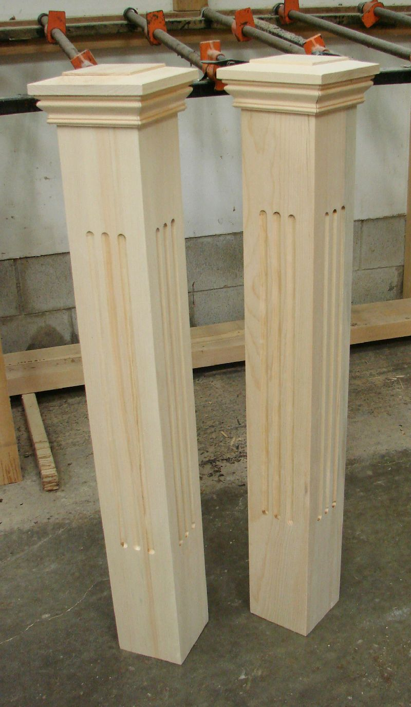 Best Square Newel Posts Wooden Staircase Railing Wooden 400 x 300