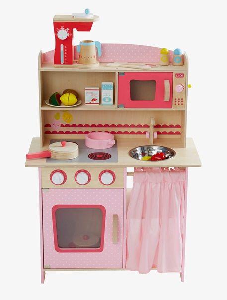 grande cuisinette en bois rose cuisinette en bois et roses. Black Bedroom Furniture Sets. Home Design Ideas