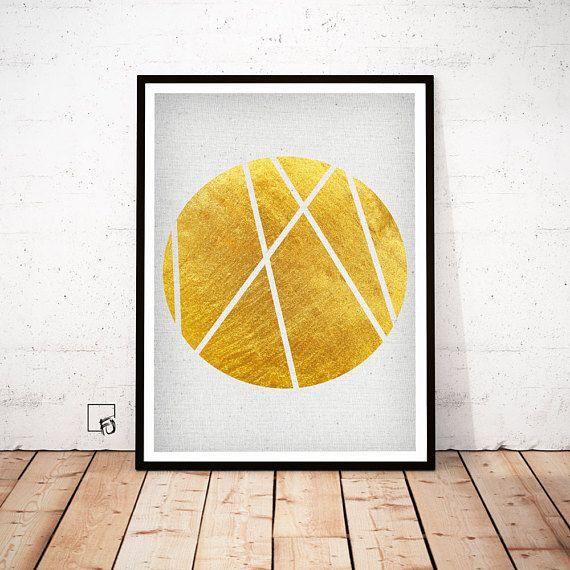 Pin by charmain on p r i n t s | Pinterest | Gold walls, Minimalism ...