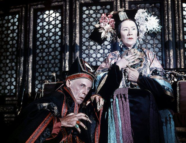 Image result for flora robson in 55 days at peking